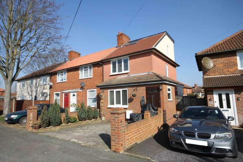 3 Bedrooms End Of Terrace House for sale in Tewkesbury Road, Carshalton