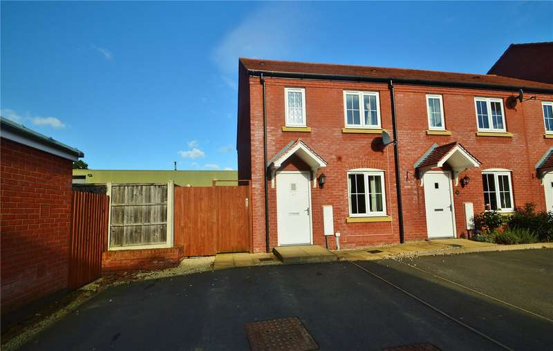 3 Bedrooms End Of Terrace House for sale in 18 Betjeman Way, Cleobury Mortimer, Kidderminster, Shropshire, DY14