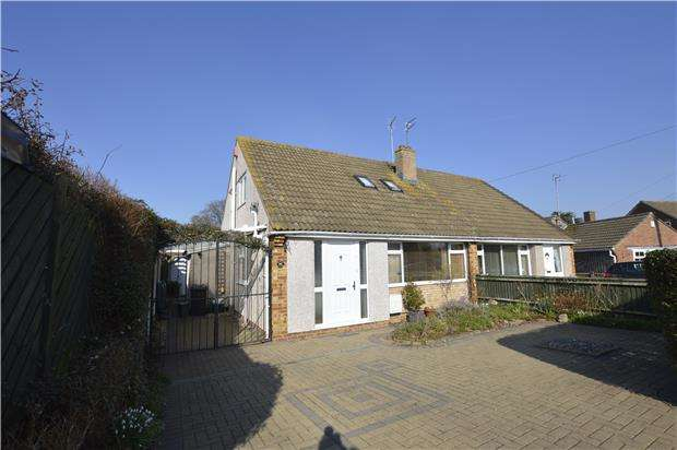 3 Bedrooms Semi Detached Bungalow for sale in Matford Close, Winterbourne, BS36 1EB
