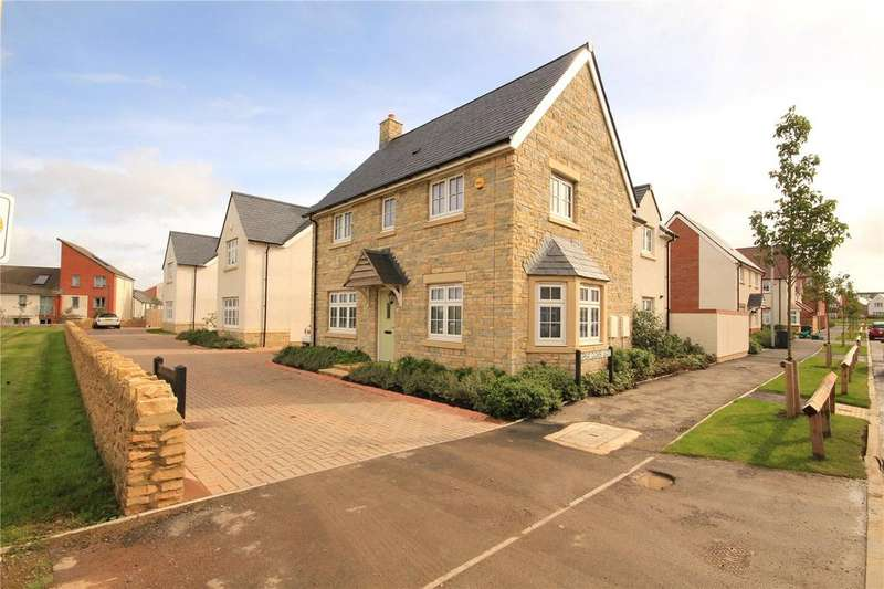 4 Bedrooms Detached House for sale in Great Clover Leaze, Cheswick Village, Bristol, BS16