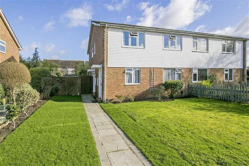 2 Bedrooms Maisonette Flat for sale in Larch Crescent, West Ewell, Surrey