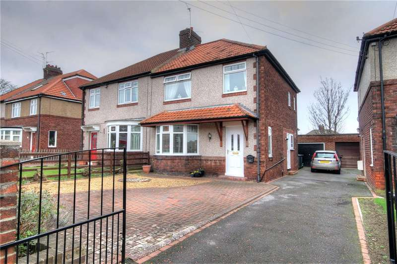 3 Bedrooms Semi Detached House for sale in Newcastle Road, Chester le Street, County Durham, DH3