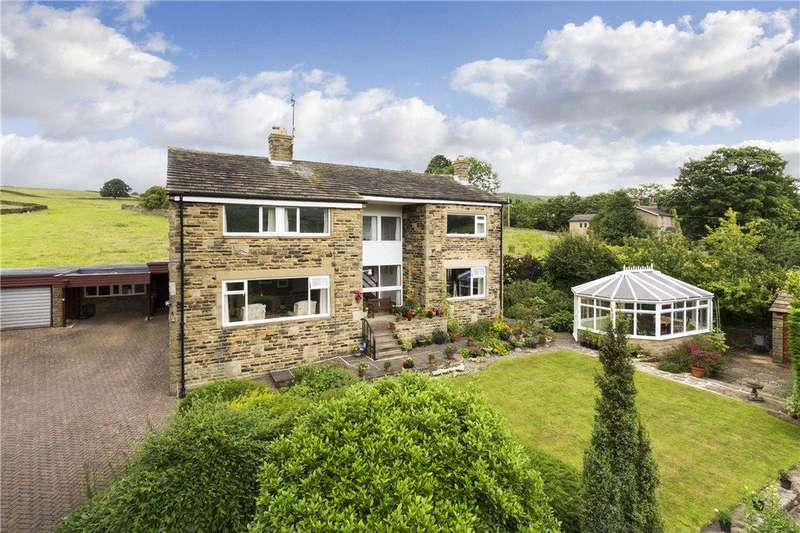 4 Bedrooms Detached House for sale in Skipton Road, Bradley, Keighley, West Yorkshire