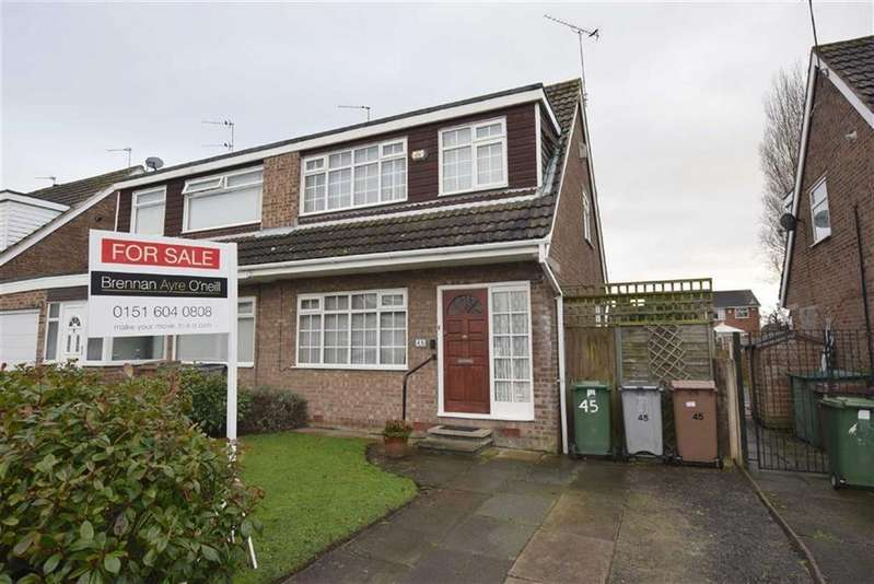 3 Bedrooms Semi Detached House for sale in Sycamore Avenue, CH49