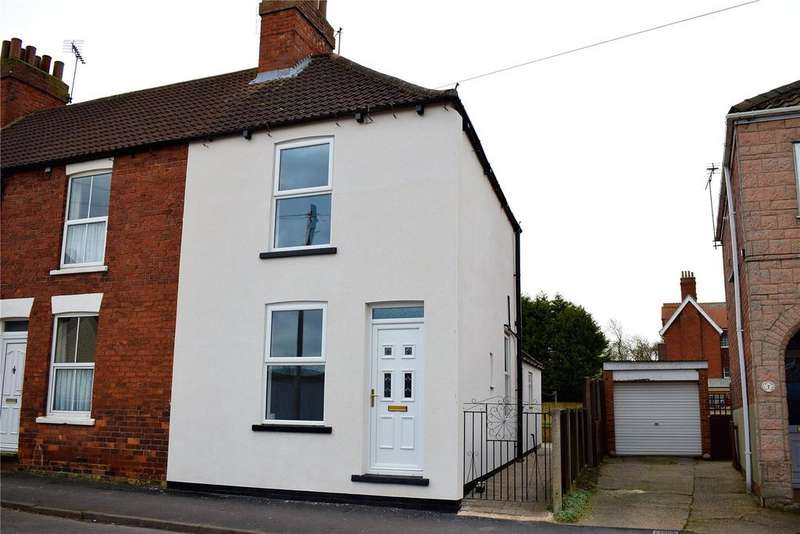 2 Bedrooms End Of Terrace House for sale in Glebe Road, Brigg, North Lincolnshire, DN20