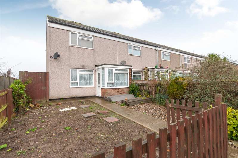 2 Bedrooms End Of Terrace House for sale in Dunstan Avenue, Westgate-On-Sea