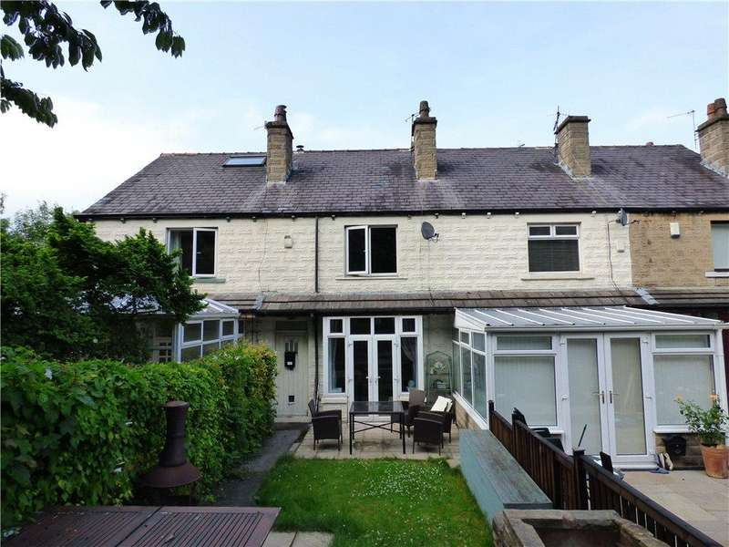 2 Bedrooms Terraced House for sale in Aire View Avenue, Bingley, West Yorkshire