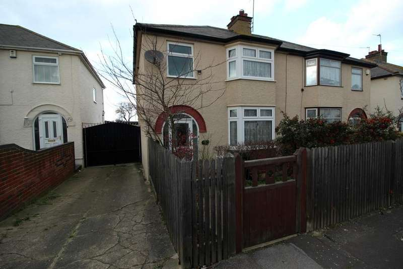 3 Bedrooms Semi Detached House for sale in Colyer Road, Northfleet DA11