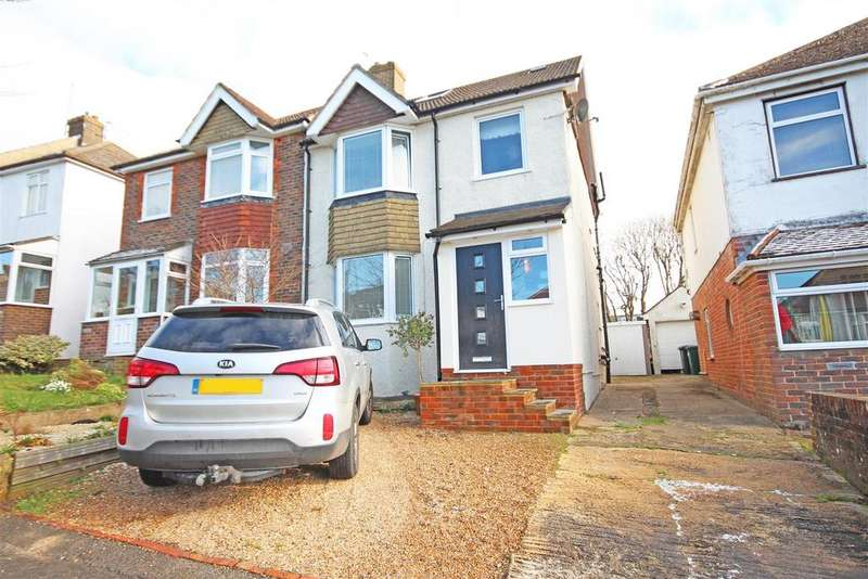 4 Bedrooms Semi Detached House for sale in Sanyhils Avenue, Patcham, Brighton