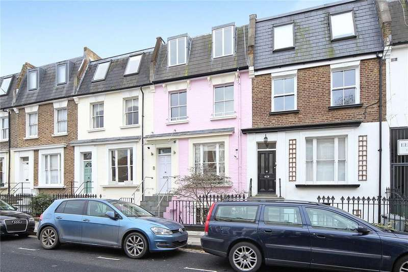 4 Bedrooms Terraced House for sale in Moore Park Road, London, SW6