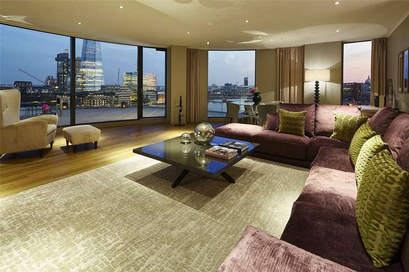 3 Bedrooms Apartment Flat for rent in Cheval Three Quays, 40 Lower Thames St, EC3R