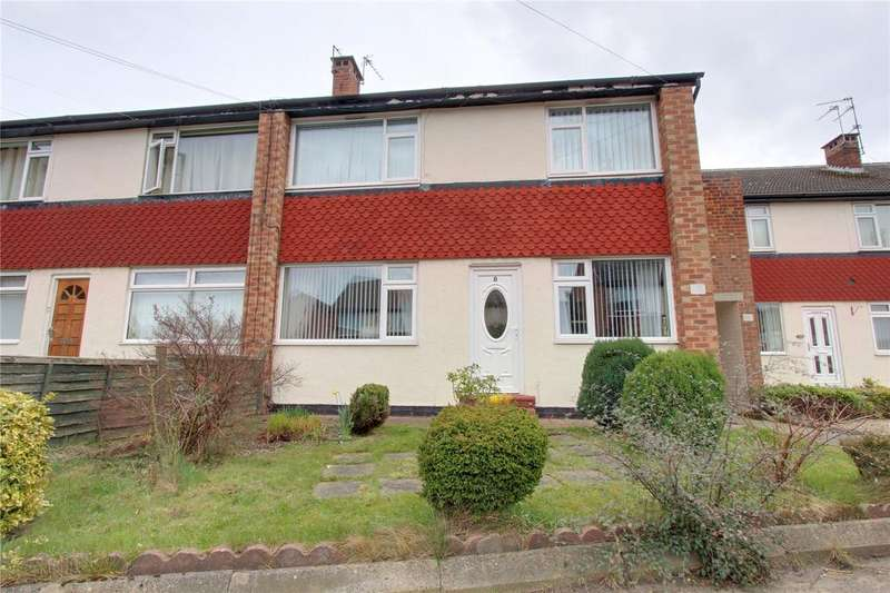2 Bedrooms Flat for sale in Hillell Walk, Brookfield