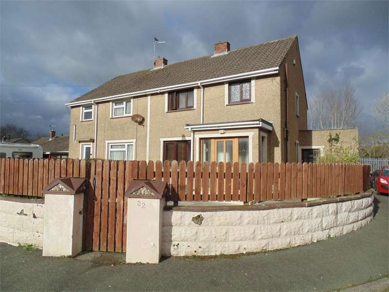 3 Bedrooms Semi Detached House for sale in 32 Jenkins Close, Merlins Bridge, HAVERFORDWEST, Pembrokeshire