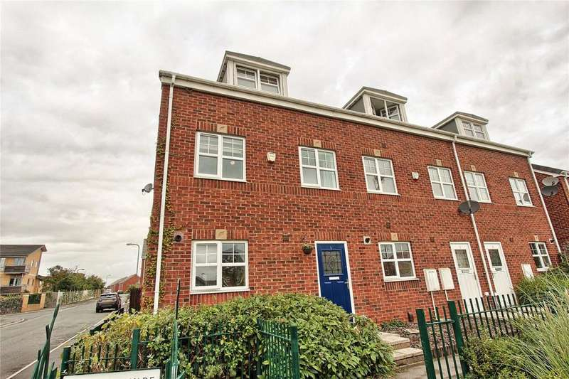 3 Bedrooms End Of Terrace House for sale in Lutyens Square, Meadow Rise