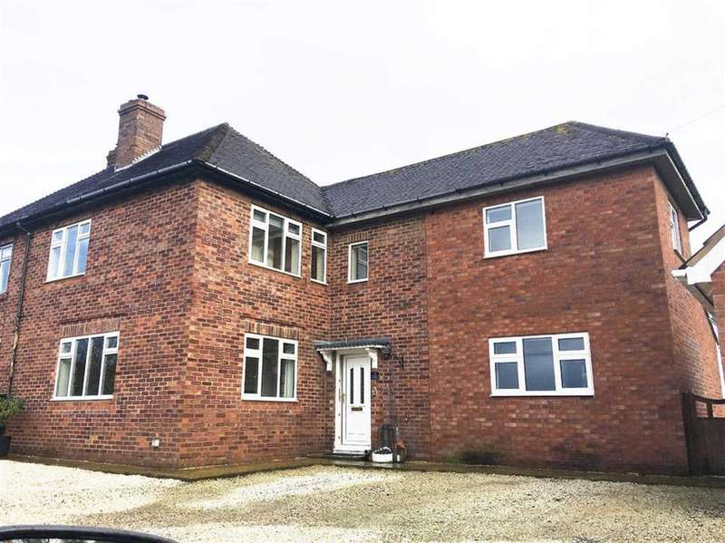 4 Bedrooms Semi Detached House for sale in Rossall New Cottages, Isle Lane, Shrewsbury