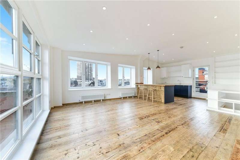 2 Bedrooms Penthouse Flat for sale in Broadwall, Southbank, London, SE1