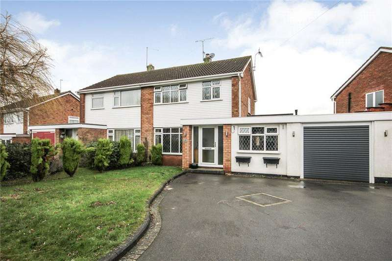 3 Bedrooms Semi Detached House for sale in Compton Road, Stourbridge, West Midlands, DY9