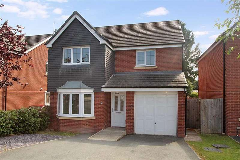 4 Bedrooms Detached House for sale in Heritage Way, Llanymynech