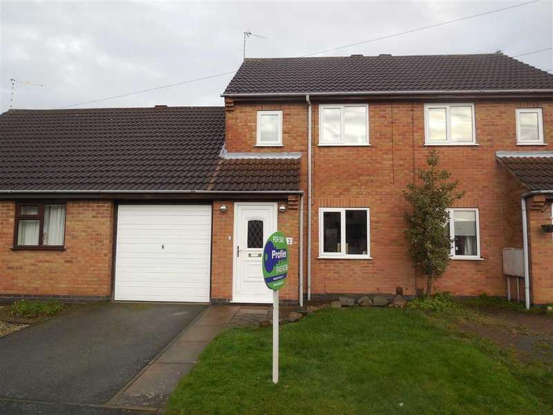 3 Bedrooms Town House for sale in Woodbank, Burbage