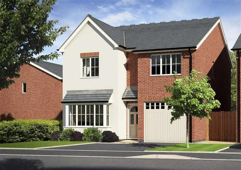 4 Bedrooms Detached House for sale in Plot 27, Meadowdale, Barley Meadows, Llanymynech, Shropshire, SY22