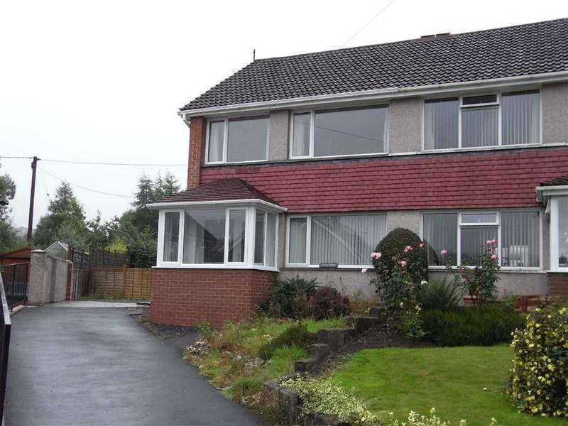 3 Bedrooms Semi Detached House for rent in 19, Garden Suburb, Llanidloes, Powys, SY18