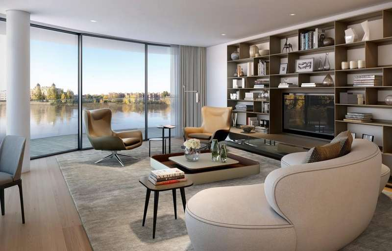 2 Bedrooms Apartment Flat for sale in Henley House, Fulham Reach, W6