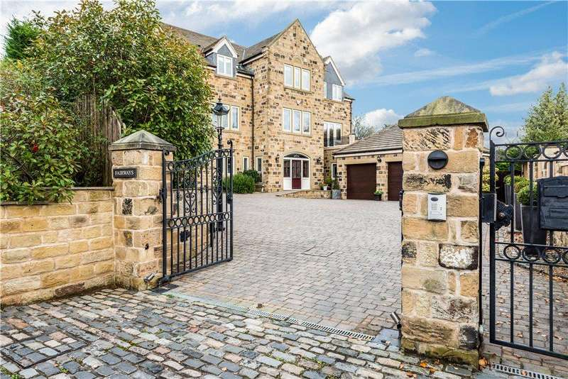 5 Bedrooms Detached House for sale in Fairways, Hill Top Court, Newmillerdam, Wakefield, West Yorkshire