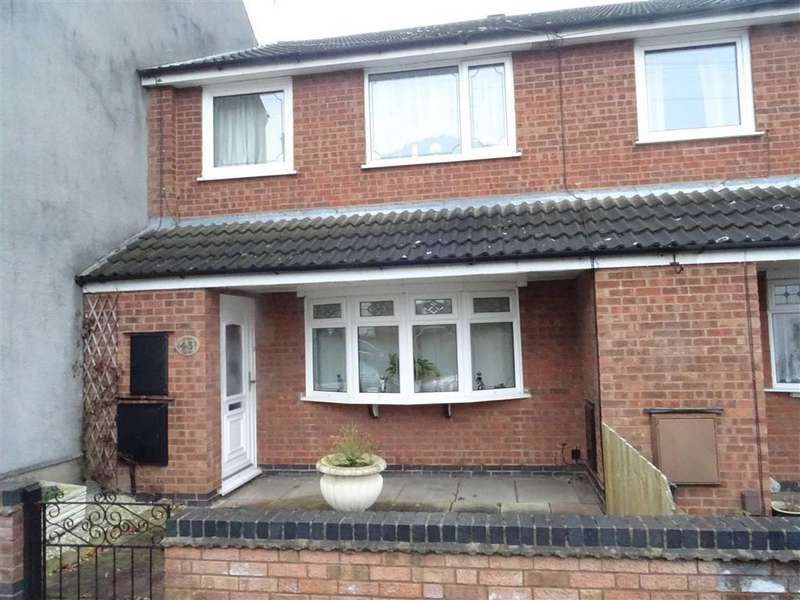 3 Bedrooms Semi Detached House for sale in Vicarage Street, Earl Shilton