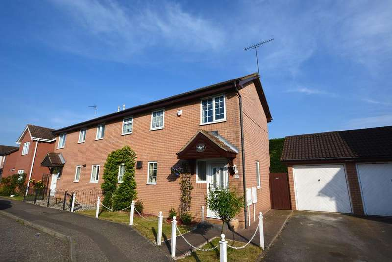 3 Bedrooms Semi Detached House for sale in Beeleigh Link, Chelmsford, CM2