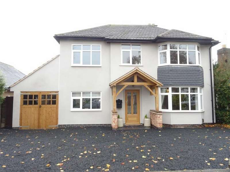4 Bedrooms Detached House for sale in Denis Road, Burbage