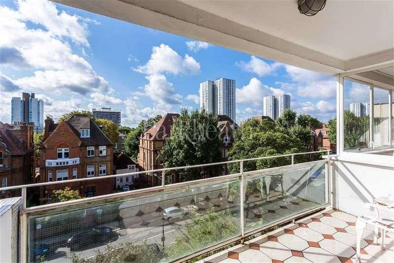 2 Bedrooms Flat for sale in Eton Avenue, Belsize Park, London