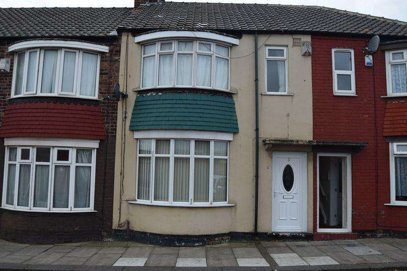 2 Bedrooms Terraced House for sale in Warton Street, North Ormesby