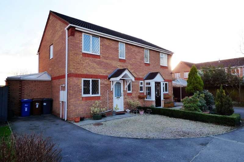 3 Bedrooms Semi Detached House for sale in Harrison Close, Branston