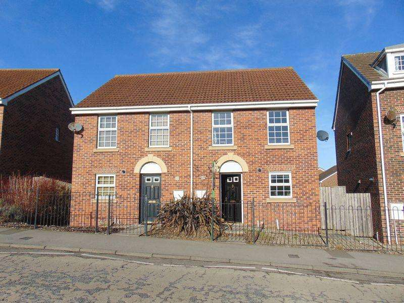 3 Bedrooms Semi Detached House for sale in Haggerstone Mews, Blaydon-On-Tyne