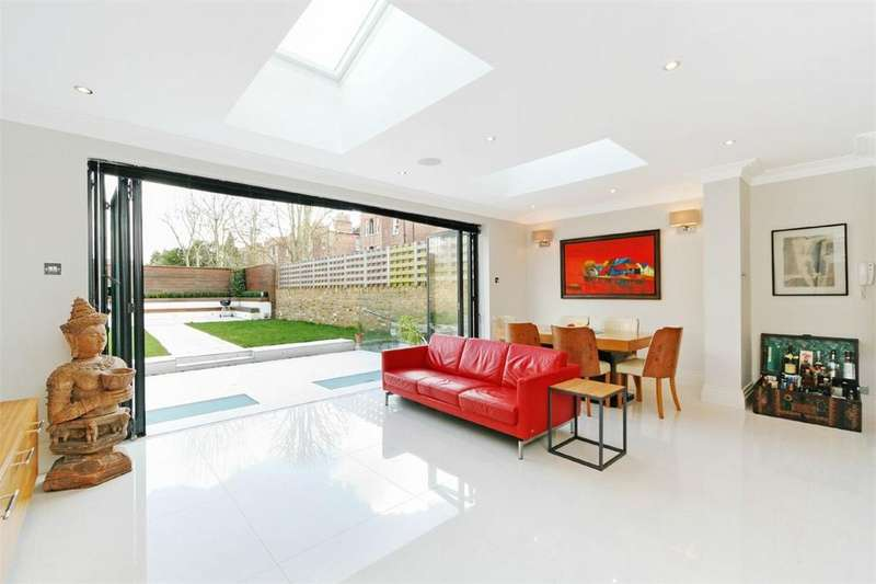 6 Bedrooms Semi Detached House for sale in Stevenage Road, Fulham, SW6