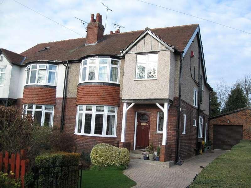 4 Bedrooms Semi Detached House for sale in Leeds LS17