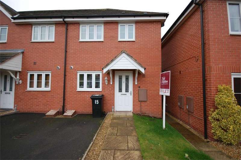 2 Bedrooms Semi Detached House for rent in 15 Borle Brook Court, Highley, Bridgnorth, Shropshire, WV16