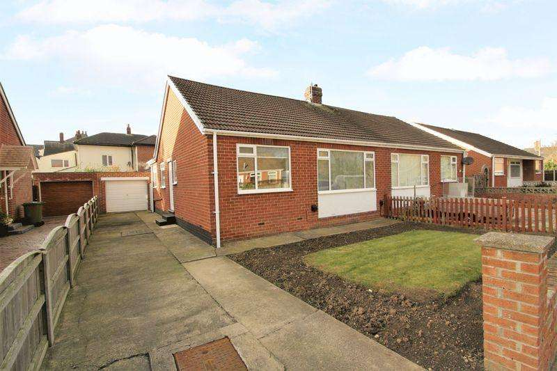 2 Bedrooms Semi Detached Bungalow for sale in Whitton Road, Fairfield, Stockton, TS19 7DW