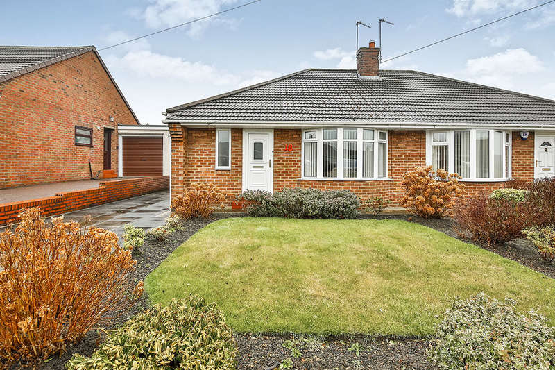 2 Bedrooms Semi Detached Bungalow for sale in Wantage Road, DURHAM, DH1