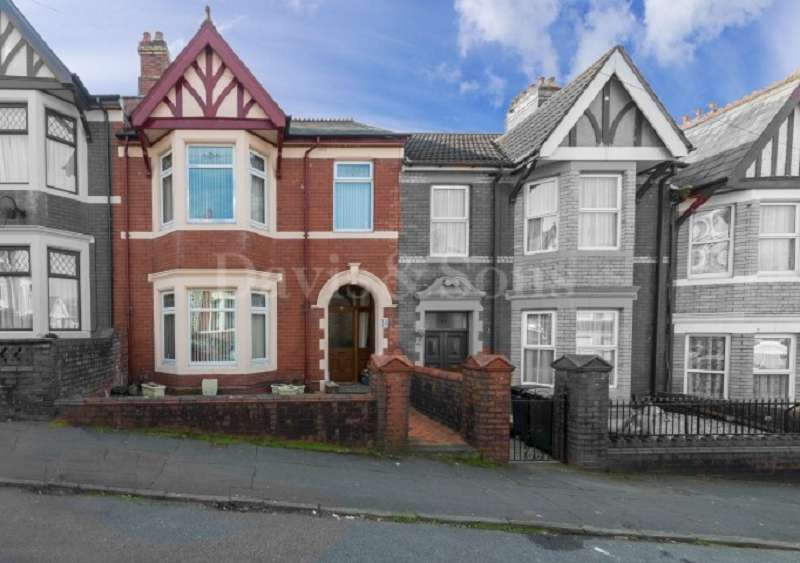 3 Bedrooms Terraced House for sale in Richmond Road, Off Caerleon Road, Newport. NP19 7GH