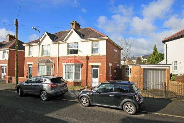 3 Bedrooms Semi Detached House for sale in Myrddin Crescent, Carmarthen, Carmarthenshire