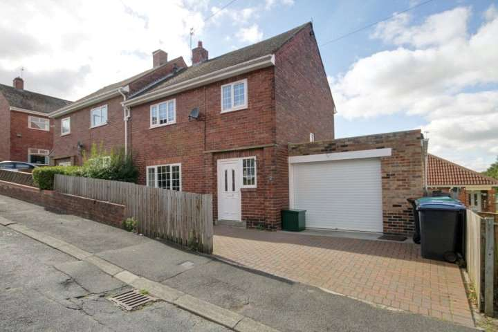 3 Bedrooms Semi Detached House for sale in York Place, Moorside, Consett, DH8