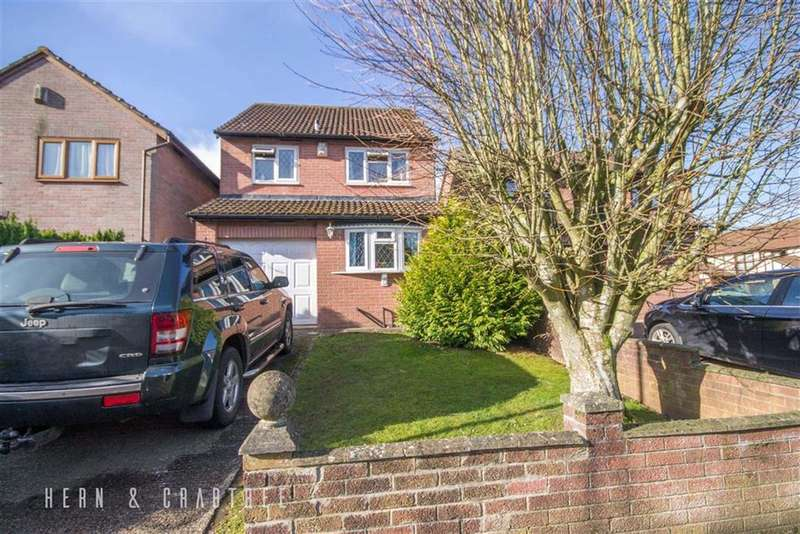 3 Bedrooms Detached House for sale in Deepwood Close, St Fagans, Cardiff