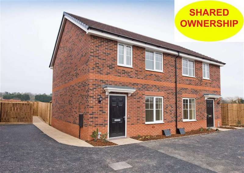 2 Bedrooms Semi Detached House for sale in 9 Bushell Close, Plot 172, Watery Lane, Codsall, Wolverhampton, South Staffordshire, WV8