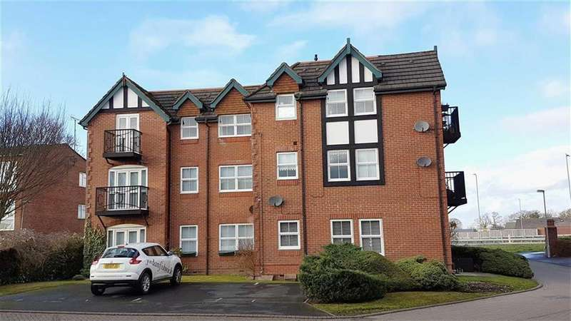 2 Bedrooms Apartment Flat for sale in Brompton Way, Handforth