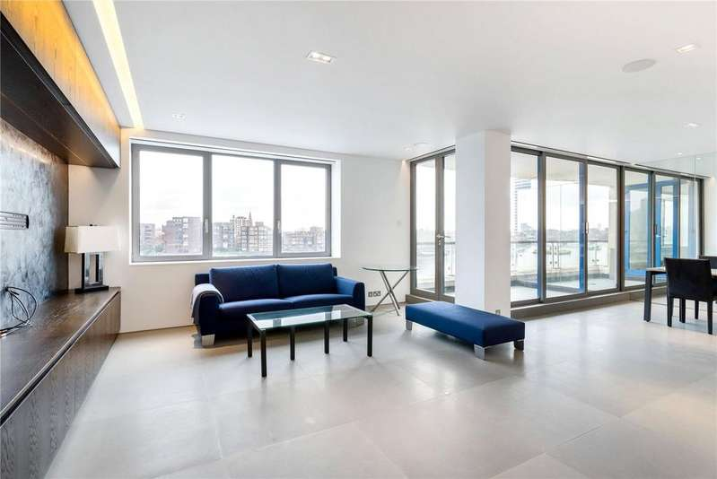 2 Bedrooms Flat for sale in Thames Quay, Chelsea Harbour, Chelsea, London, SW10