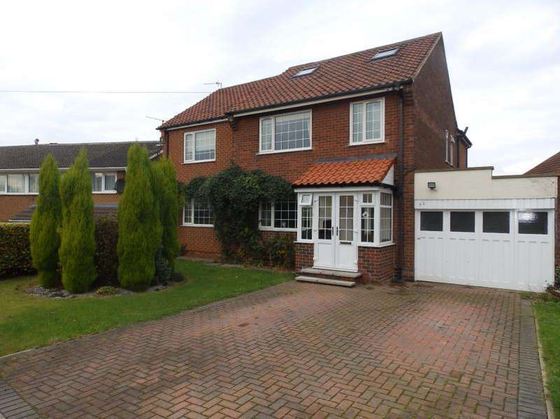 5 Bedrooms Detached House for sale in CLIFF PARK AVENUE, WAKEFIELD, WF1 2DW