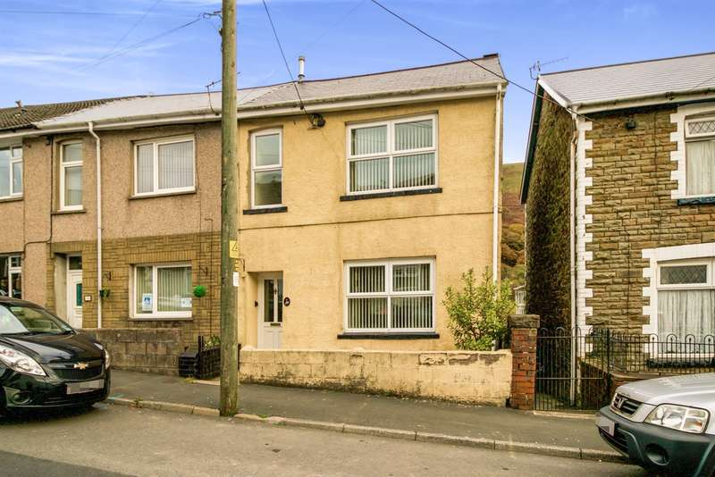 3 Bedrooms End Of Terrace House for sale in Dunraven Place, Ogmore Vale, BRIDGEND