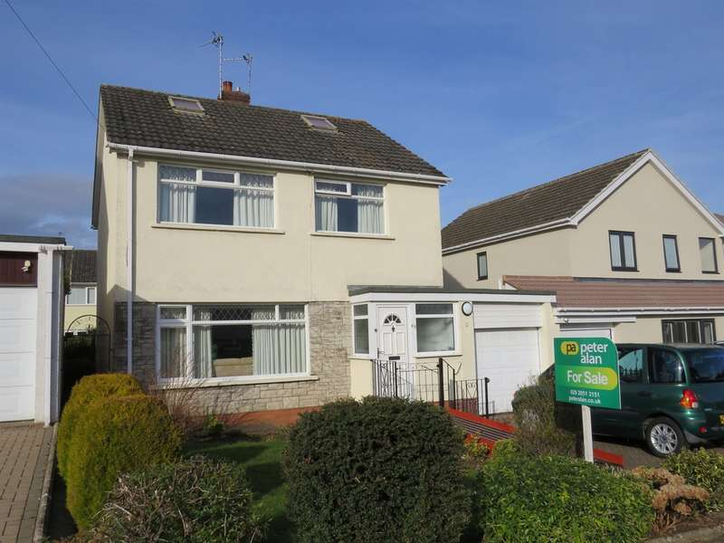 3 Bedrooms Detached House for sale in Gwenfo Drive, Wenvoe, Cardiff