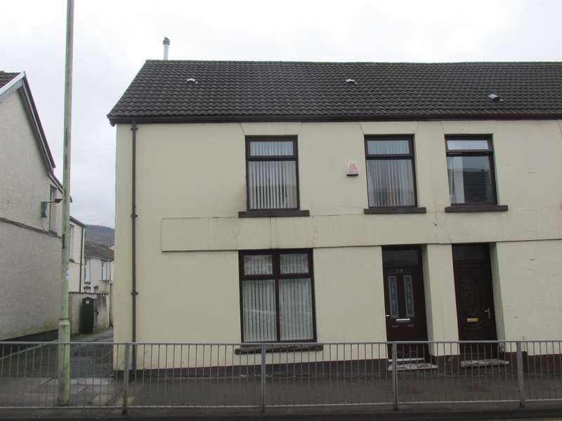 3 Bedrooms End Of Terrace House for sale in Gadlys Road, Aberdare